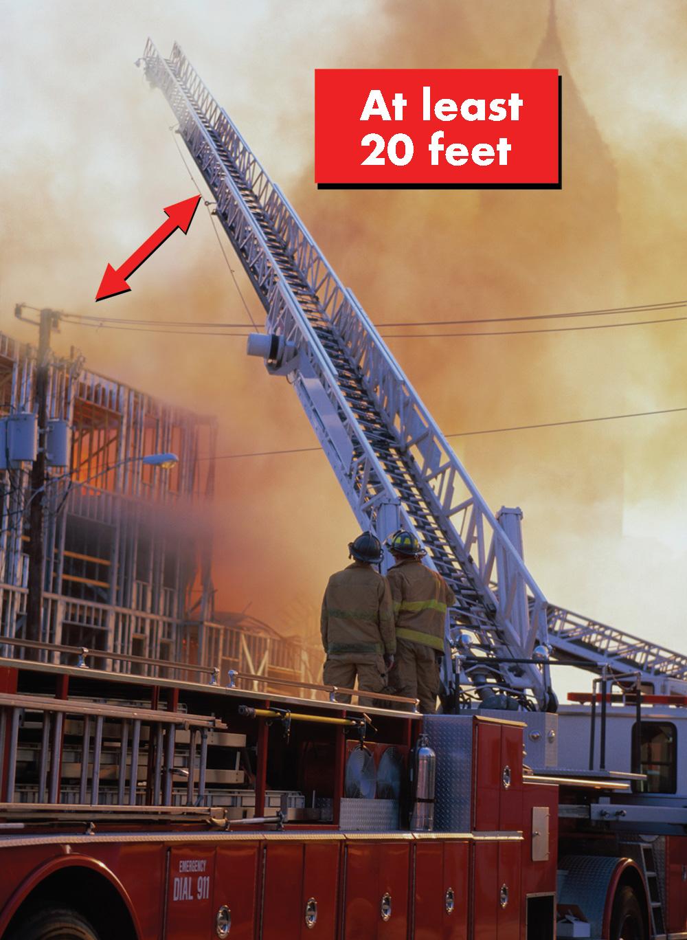 FR 20 Foot Fire Ladder